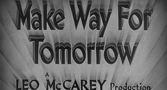 Make Way for Tomorrow