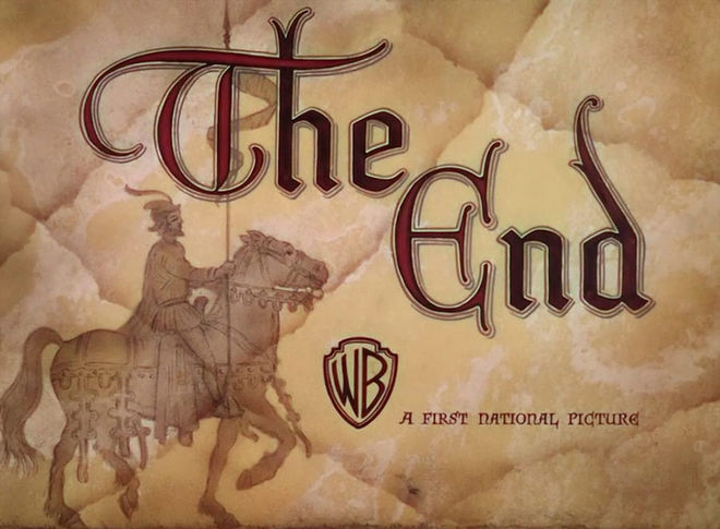 VIDEO: The Adventures of Robin Hood end titles