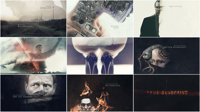 True Detective Title Sequence