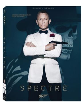 IMAGE: SPECTRE Blu-ray Box Art