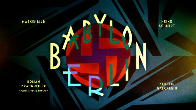 IMAGE: Babylon Berlin 3 make-up artists