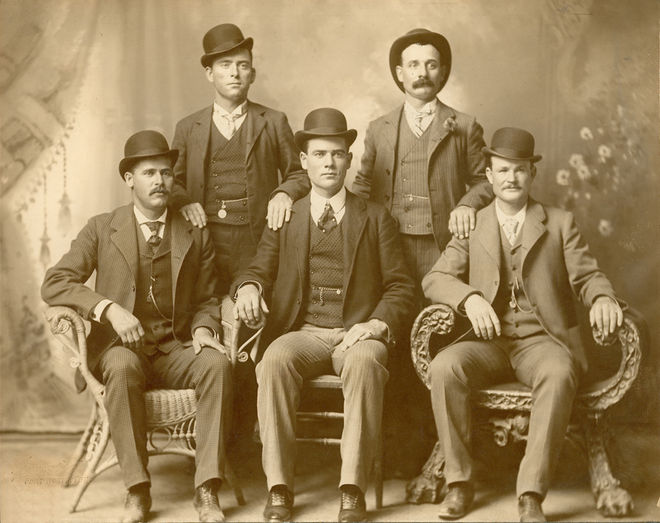 IMAGE: The Wild Bunch Gang featuring Butch Cassidy and the Sundance Kid