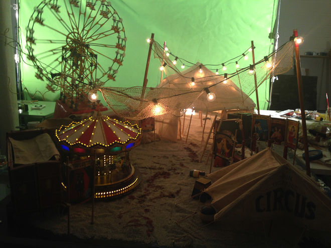 IMAGE: American Horror Story: Freak Show (2014) Behind the Scenes 2