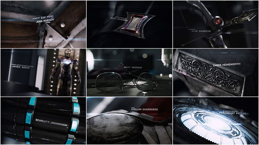 VIDEO: Title Sequence –The Avengers main-on-end titles