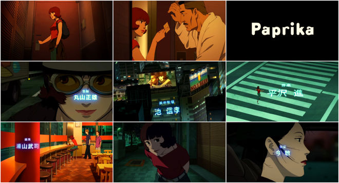 VIDEO: Title Sequence – Paprika
