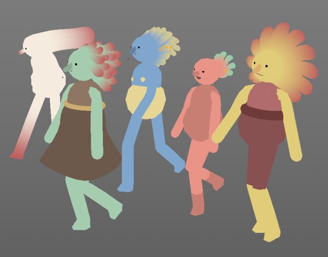 IMAGE: Character renderings 1