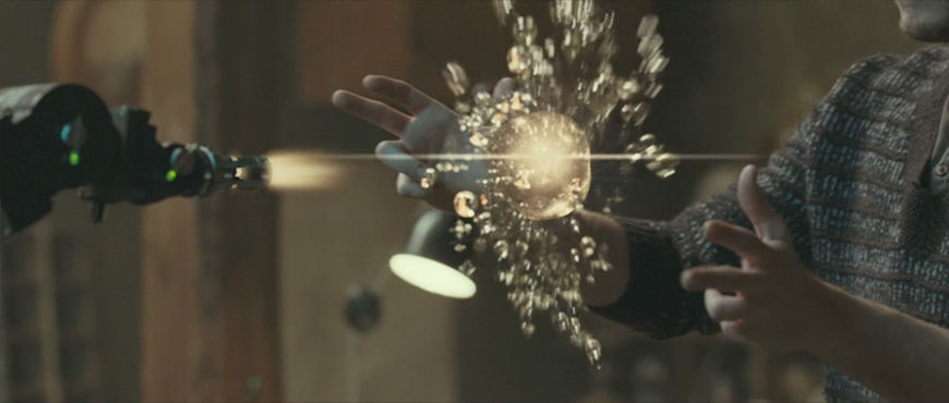 "IMAGE: Still from movie - ""Hand Up"" interface 2 - burst between hands"