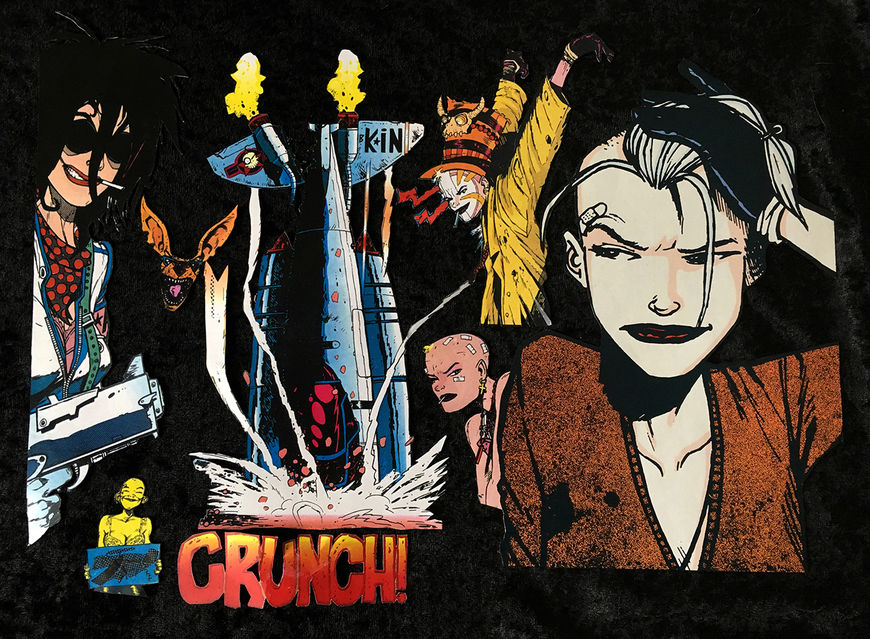 IMAGE: Tank Girl cutouts – 1 CRUNCH!