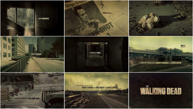 VIDEO: Title Sequence – The Walking Dead (2010) Season 1