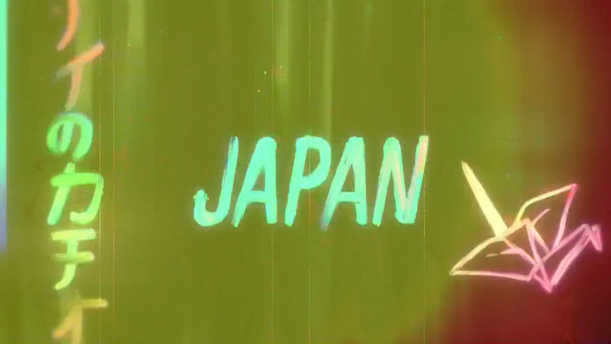 VIDEO: Title Sequence – Gaycation Japan Titles