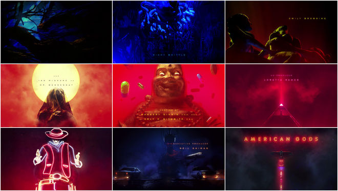 VIDEO: Title Sequence – American Gods (2017)