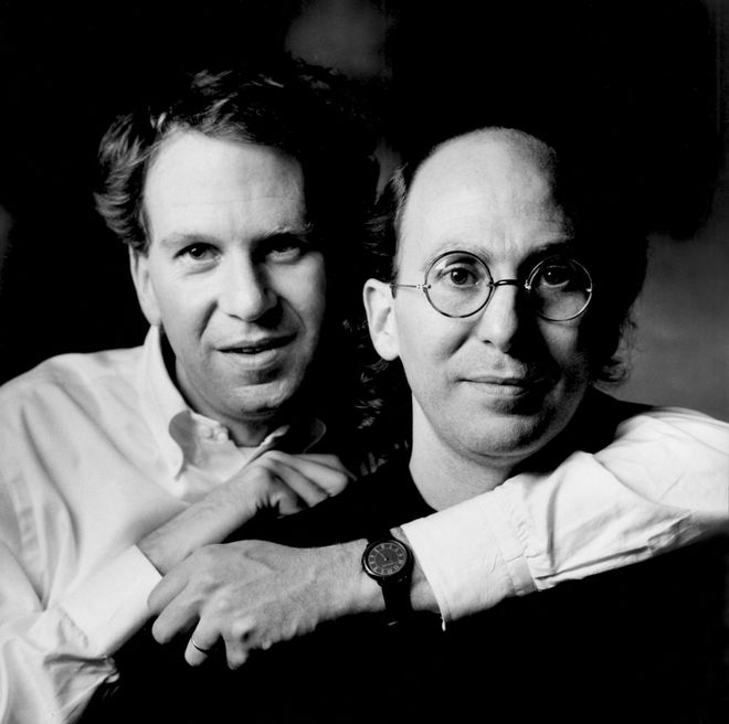 IMAGE: Richard and Robert Greenberg portrait
