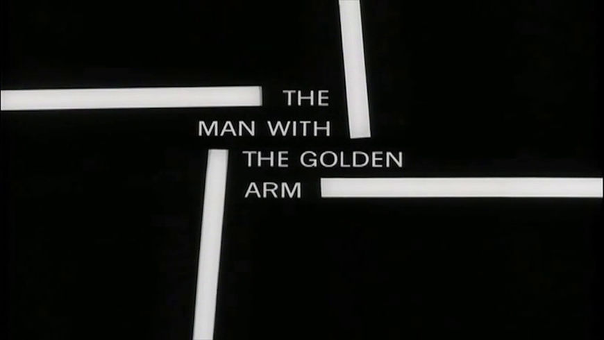 VIDEO: Title Sequence – The Man with the Golden Arm (1955)