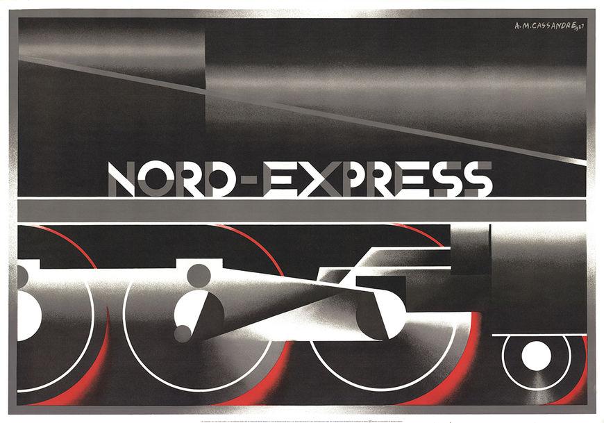 IMAGE: Poster –AM Cassandre train