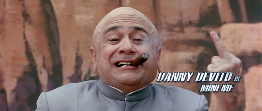 IMAGE: Still - Danny Devito as Mini-me