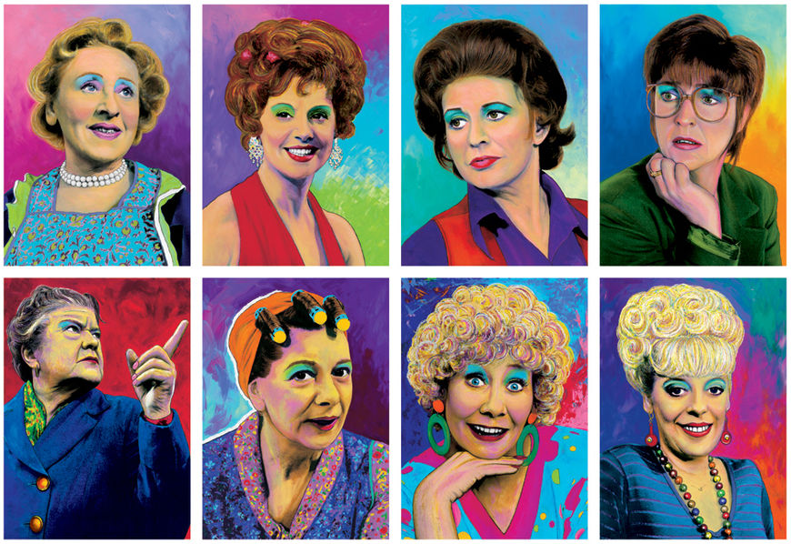 IMAGE: Coronation Street portrait series