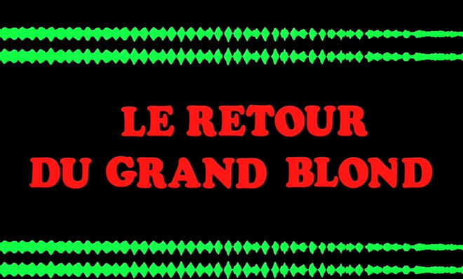 VIDEO: Title Sequence –  Le Retour du grand blond (1974)