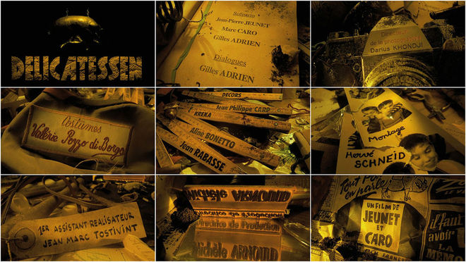 VIDEO: Title Sequence – Delicatessen (1991)