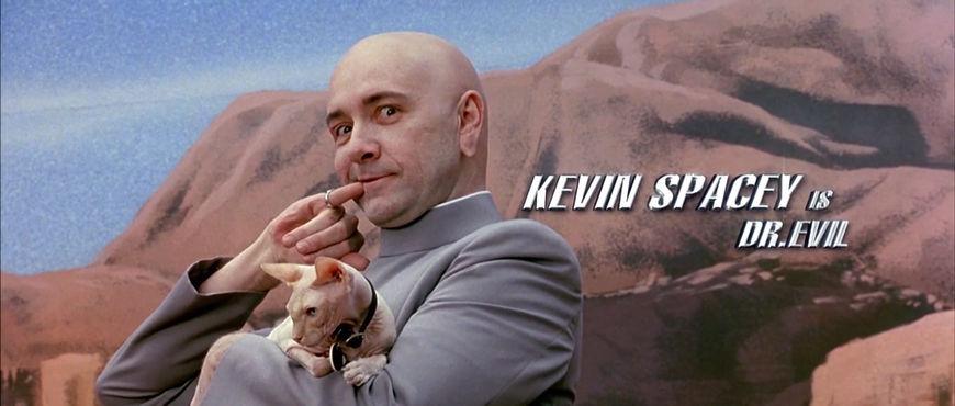 IMAGE: Still - Kevin Spacey Dr. Evil