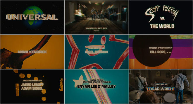 VIDEO: Title Sequence – Scott Pilgrim vs the World (2011)