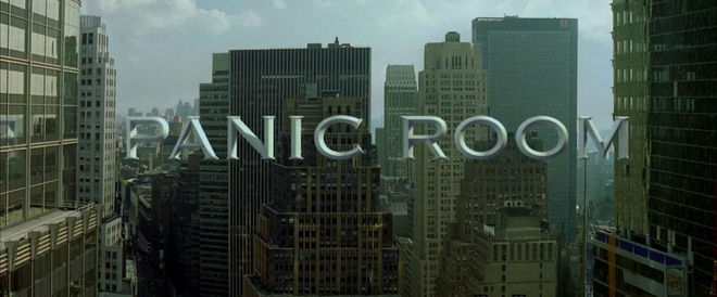 VIDEO: Title Sequence – Panic Room (2002)