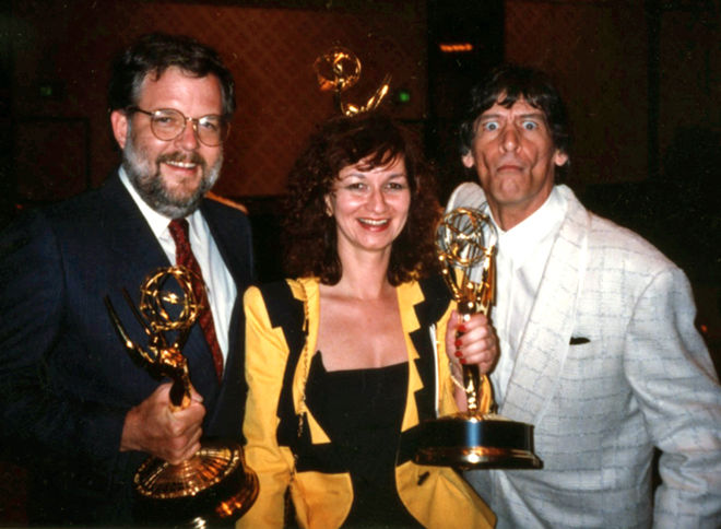 IMAGE: Photo – Emmy Award - Cherry, Laszewski, Varney
