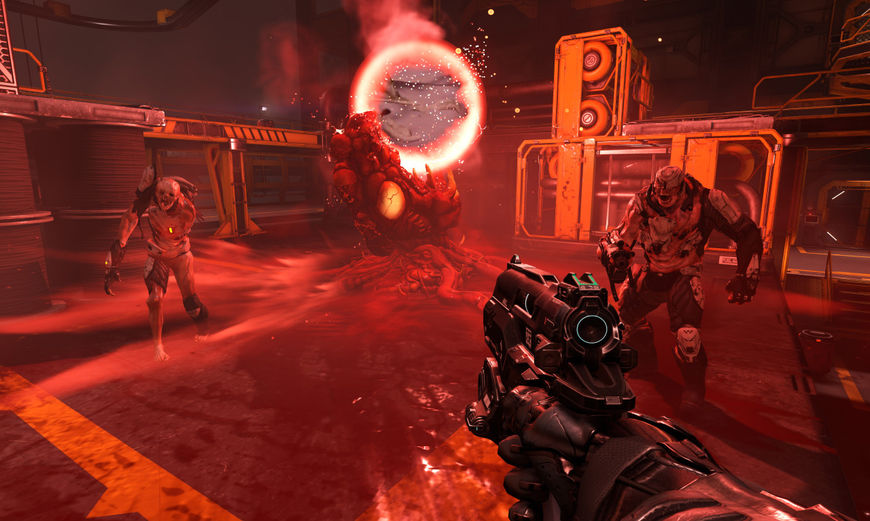IMAGE: DOOM (2016) Screenshot 1