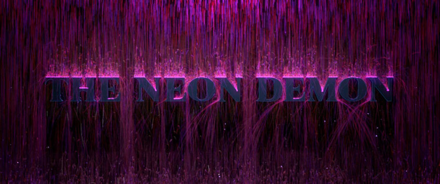 VIDEO: Neon Demon Particle Test