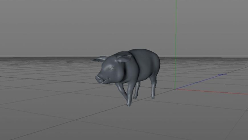 VIDEO: Four in the Morning (2016) Pig Animation Test