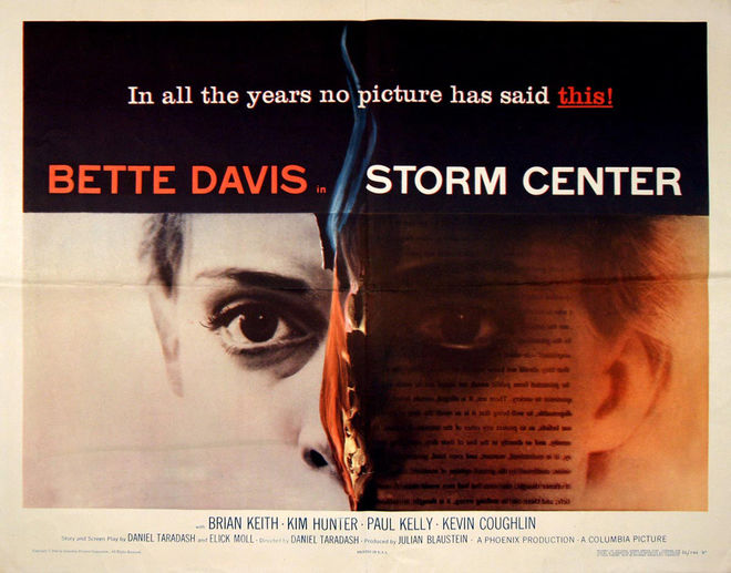 IMAGE: Storm Center (1956) Poster