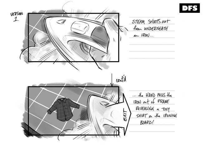 Storyboard planning