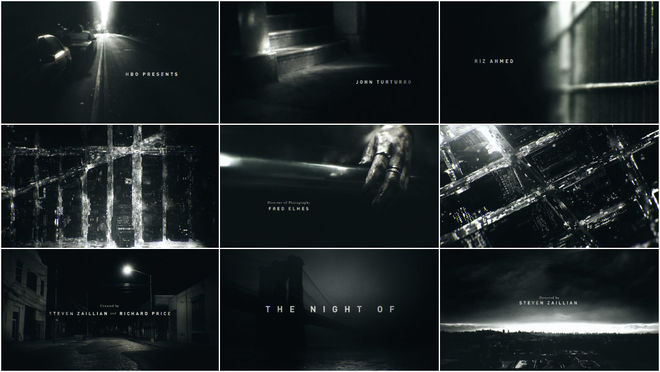 VIDEO: Title Sequence - The Night Of