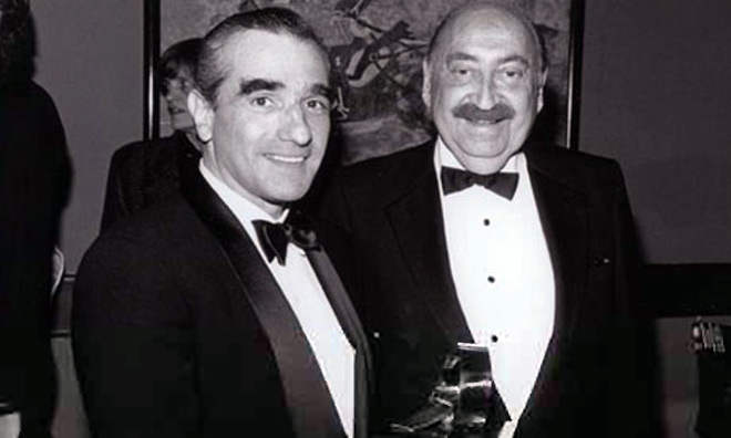 IMAGE: Martin Scorsese and Saul Bass
