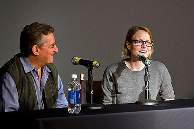 IMAGE: Dan Perri and Jodie Foster
