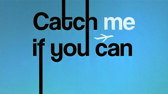 catch me if you can by From its lovely saul bass-style credits, catch me if you can is a stylish, confident comedy with a light touch coming from steven spielberg, this is a major surprise.