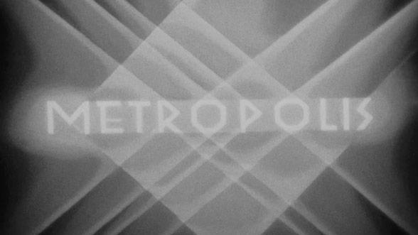 Metropolis 1927 Art Of The Title