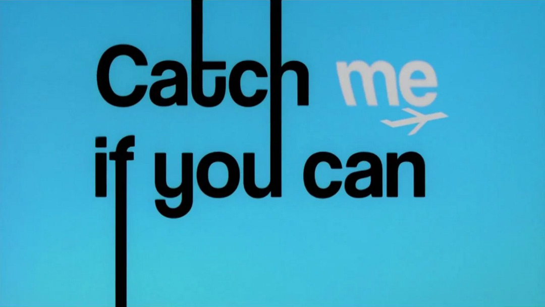VIDEO: Title Sequence – Catch Me If You Can
